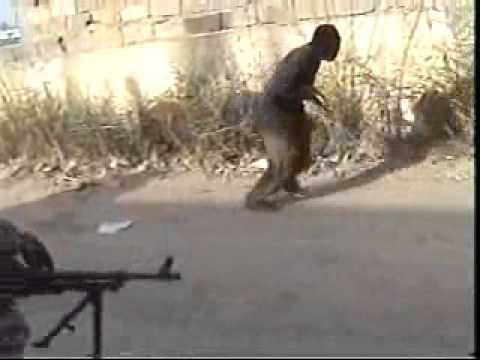 Insurgent attack on Iraqi Police station.  MORONS! Iraq