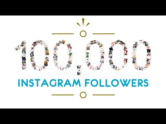 100k Instagram followers for The Jewellery Editor – Thank You