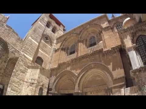 Church of the Holy Sepulchre, Jerusalem - Church bells on Friday, 12 am, the hour of the crucifixion