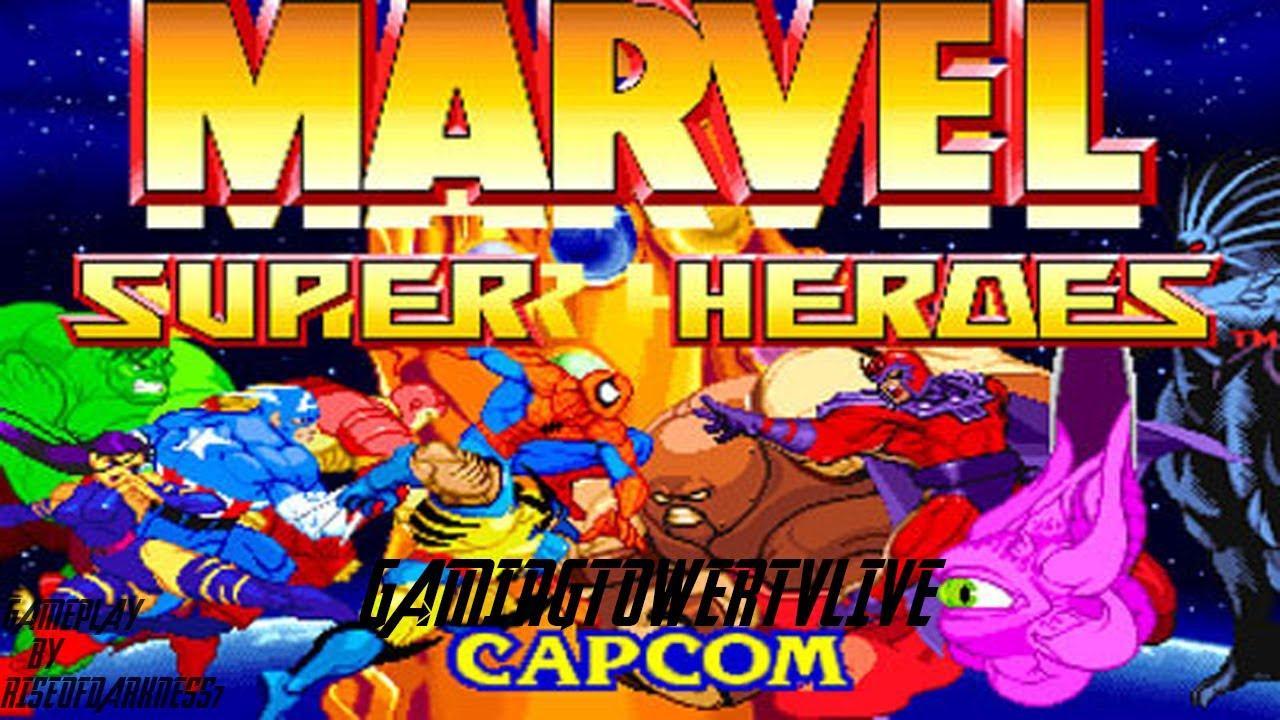 Marvel Super Heroes 60 Superhéroes: Marvel Super Heroes [PS1]