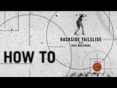 How To: Backside Tailslide with Joey Brezinski | TransWorld SKATEboarding