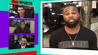 Tyron Woodley Leaves Voicemail for Nate Diaz, 'I Heard You're S**tting Yourself' | TMZ Sports