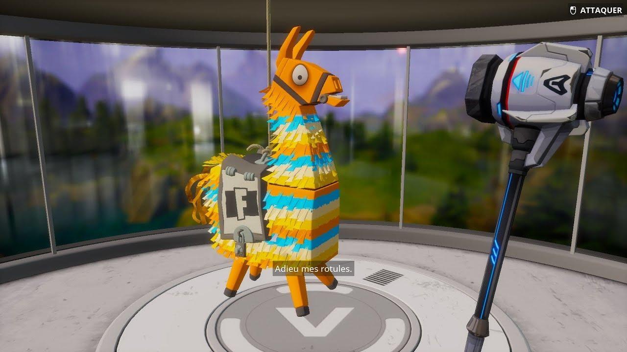 Fortnite ouverture d 39 une dizaine de lama youtube - Lama pictures fortnite ...