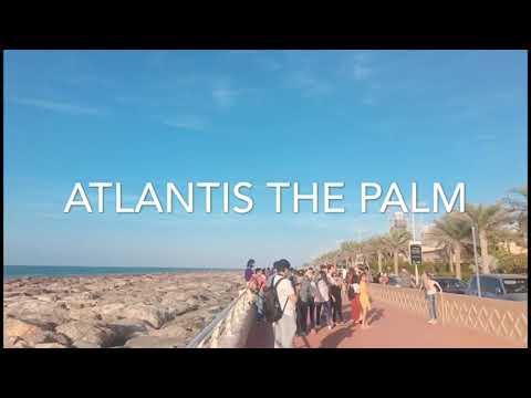 Atlantis the palm – Jumeirah Beach – Marina Walk – Imagine Show Festival City, Dubai