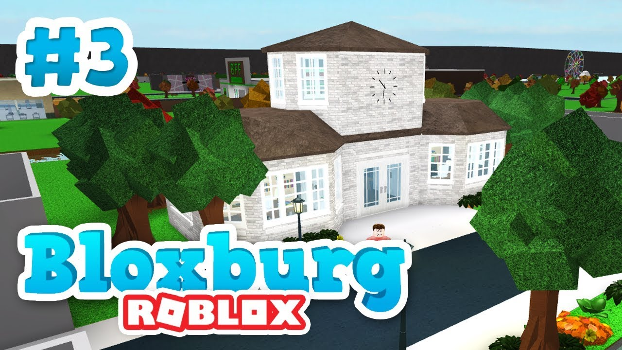 Building A Mini Town Roblox Welcome To Bloxburg 1 - Building The Town Hall Roblox Welcome To Bloxburg 3
