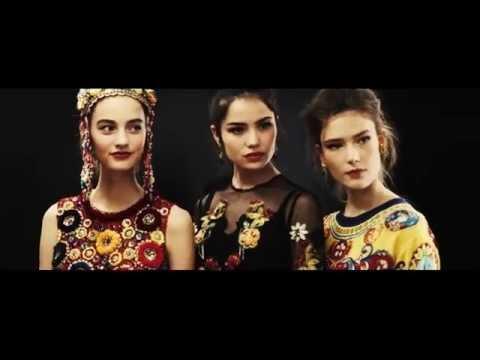 Показ женской коллекции Dolce Gabbana Лето 2016   Закулисье   720x540