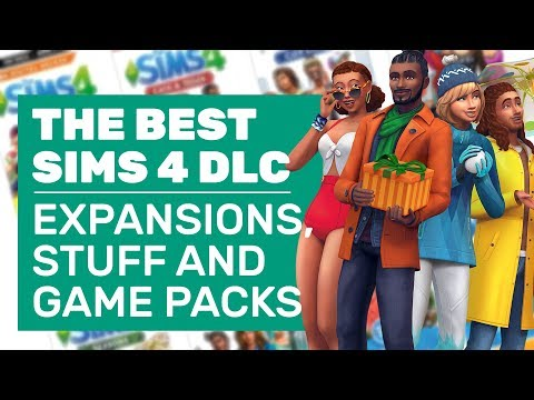 The Sims 4's Best Expansion, Game And Stuff Packs (Because