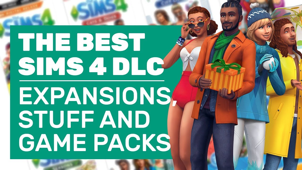 Best Sims 4 Expansion Packs 2019 The Sims 4's Best Expansion, Game And Stuff Packs (Because There