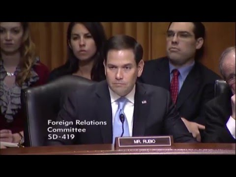 Rubio Highlights Cuban Migratory Crisis, Security Challenges in Central America