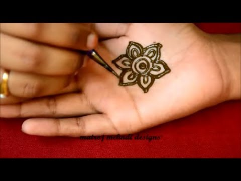 Simple Easy Mehndi Design For Hands For Eid 2018 Simple Arabic