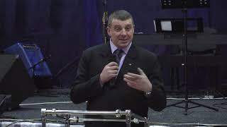 """Воскресное Богослужение.09.02.20.""""Покайтесь и веруйте в Евангелие""""Мк.1:14-15.Пастор Чайка Александр."""