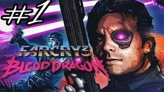 Far Cry 3: Blood Dragon Walkthrough/Gameplay - Intro - Part 1 [No Commentary]