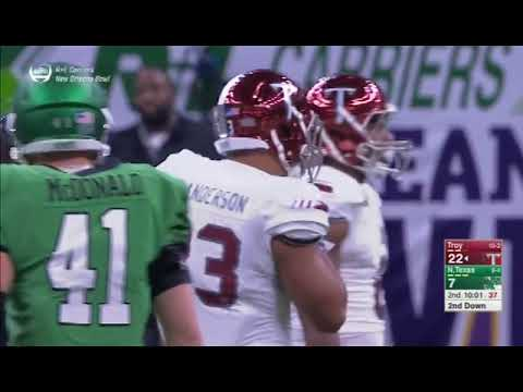 Josh Anderson #33 Troy University Running Back Highlights