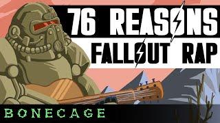 Nuclear Fallout 76 Rap   76 Reasons (JT Music/GameboyJones/Dan Bull/FabvL/Bonecage)