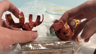 BAKUGAN LOT UNBOXING!!! MAH SECOND CRYSTAL B1 HYNOID!!!!
