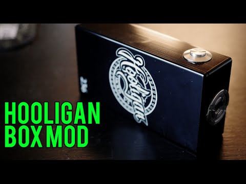 Hooligan Box Mod ~ Series / unregulated ~ SeamTingleCoil