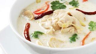 Суп на кокосовом молоке Том Ка