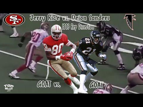 EPIC GOAT Study: ATL's Deion Sanders vs. Jerry Rice!!!