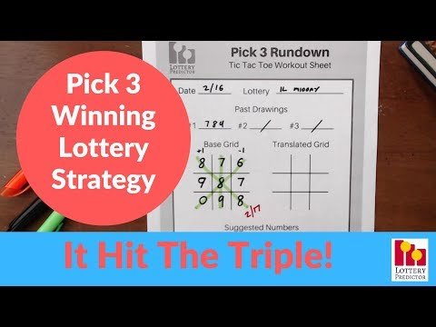 Pick 4 illinois lottery evening