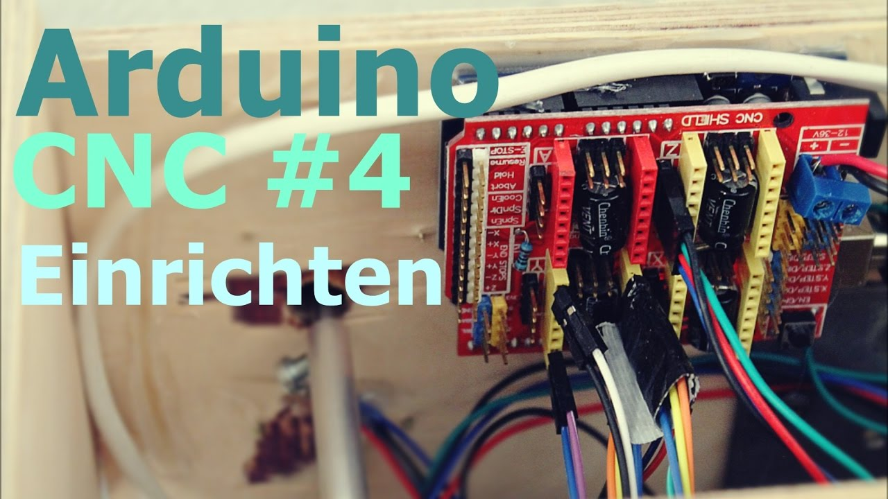 arduino cnc 4 pc und arduino einrichten youtube. Black Bedroom Furniture Sets. Home Design Ideas