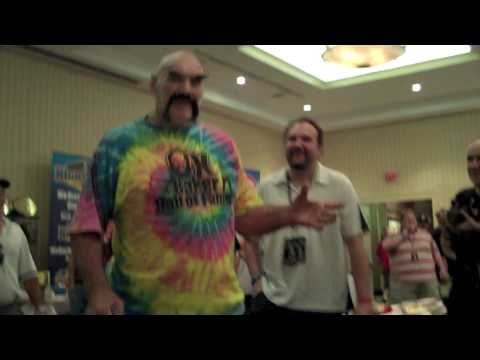 Ox Baker says hello to The Steiner Brothers