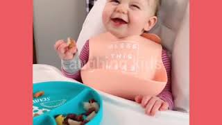 Try not to laugh challenge #3   laughing kids   smile babies