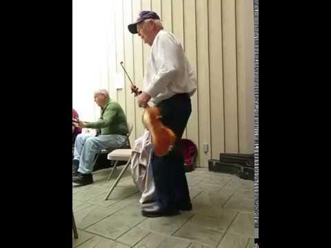 Blue Ridge Music Center fiddle player