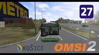 OMSI 2 Košice L27 , Staničné Nám. Madridská & Solaris Urbino 15 II #3532