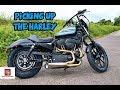 Picking up my new Harley Davidson - Sportster Iron 1200