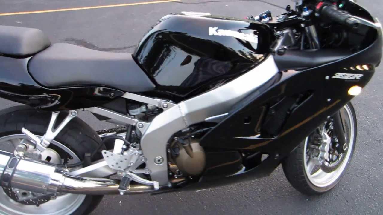 For Sale: 2008 Kawasaki ZZR 600 Ninja $5000 OBO - YouTube