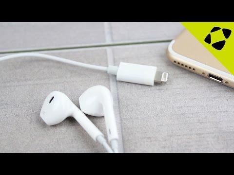 Official iPhone 7 Lightning Earphones Leak?!!