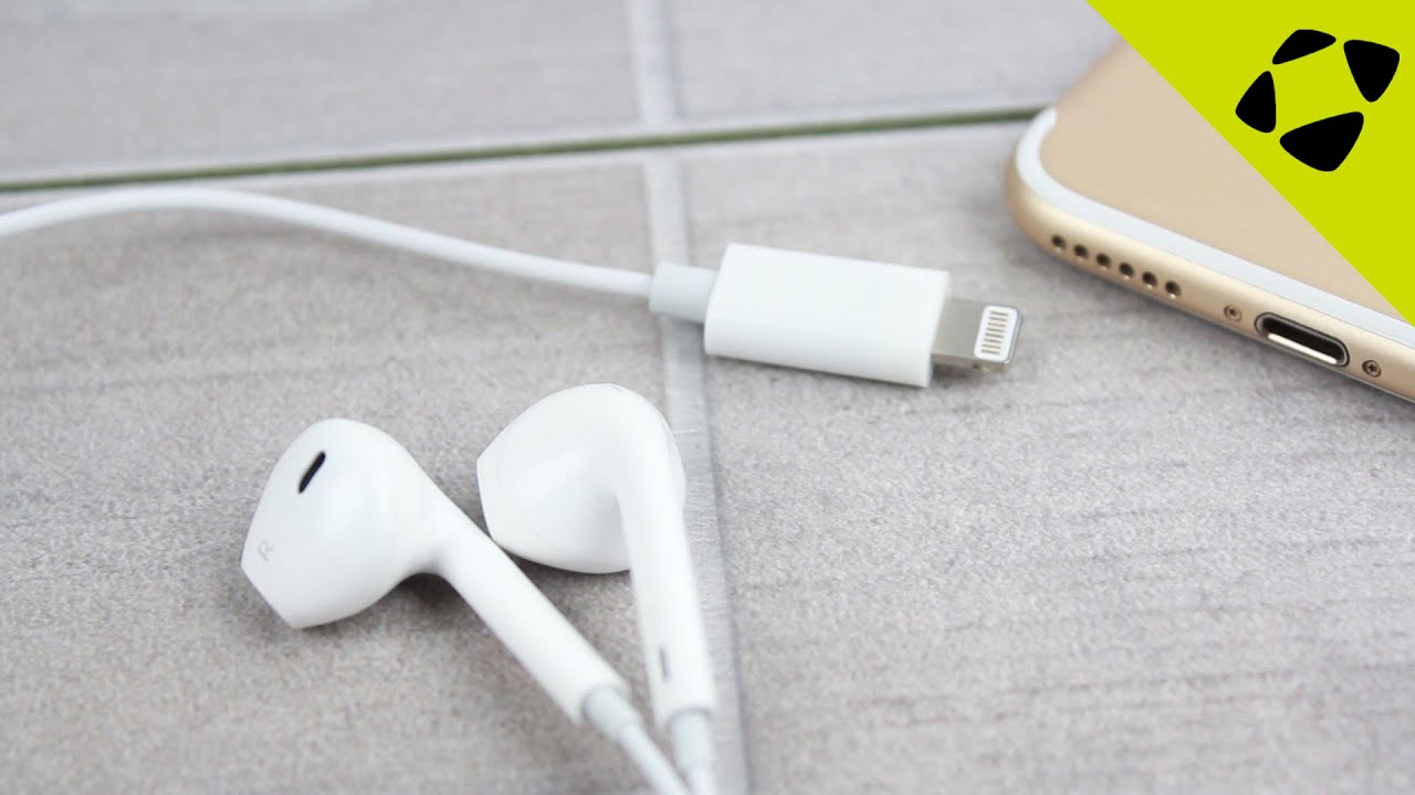 Official IPhone 7 Lightning Earphones Leak
