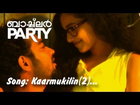 KARMUKILIL ( 2 ) | BACHELOR PARTY | VIDEO SONG | New Malayalam Movie Song | Nithya Menen | Asif ali