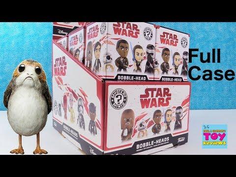 Star Wars The Last Jedi Funko Mystery Minis BobbleHeads Full Box | PSToyReviews