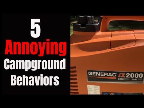 Campground Etiquette: 5 Annoying Campground Behaviors