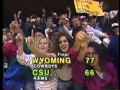 Wyoming Cowboy Basketball 1992 93