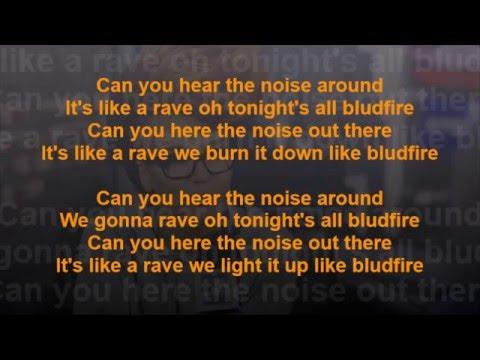 Eva Simons - Bludfire ft. Sidney Samson (Songtekst Lyrics) [HD]