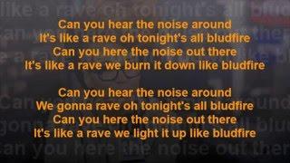 Eva Simons Bludfire Ft Sidney Samson Songtekst Lyrics HD