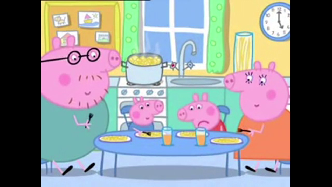 świnka Peppa Shoty Kuchnia Taty świnki