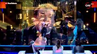 Juan Cárdenas revolucionó la final de Talento Chileno con su tango