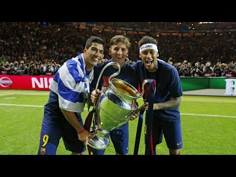 FC Barcelona Champions League victory celebrations (full version)