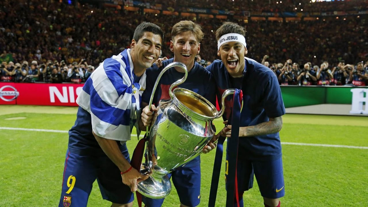 Fc Barcelona Champions League Victory Celebrations Full Version Youtube