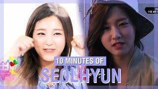 10 MINUTES OF AOA SEOLHYUN'S FUNNY MOMENTS