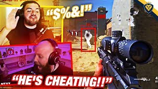 WE FACED A CHEATER IN A CALL OF DUTY!! THIS SHOULDN'T BE POSSIBLE! (Modern Warfare)