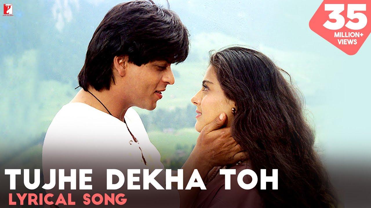 Download Tujhe Dekha Toh | Lyrical Song | Dilwale Dulhania Le Jayenge | SRK, Kajol | Anand Bakshi | DDLJ