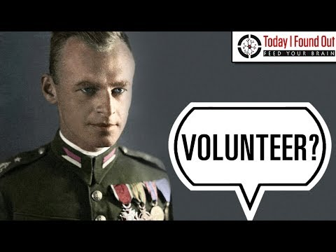 The Soldier Who Voluntarily Became a Prisoner in Auschwitz