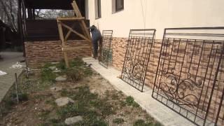 видео Кованые решетки на окна