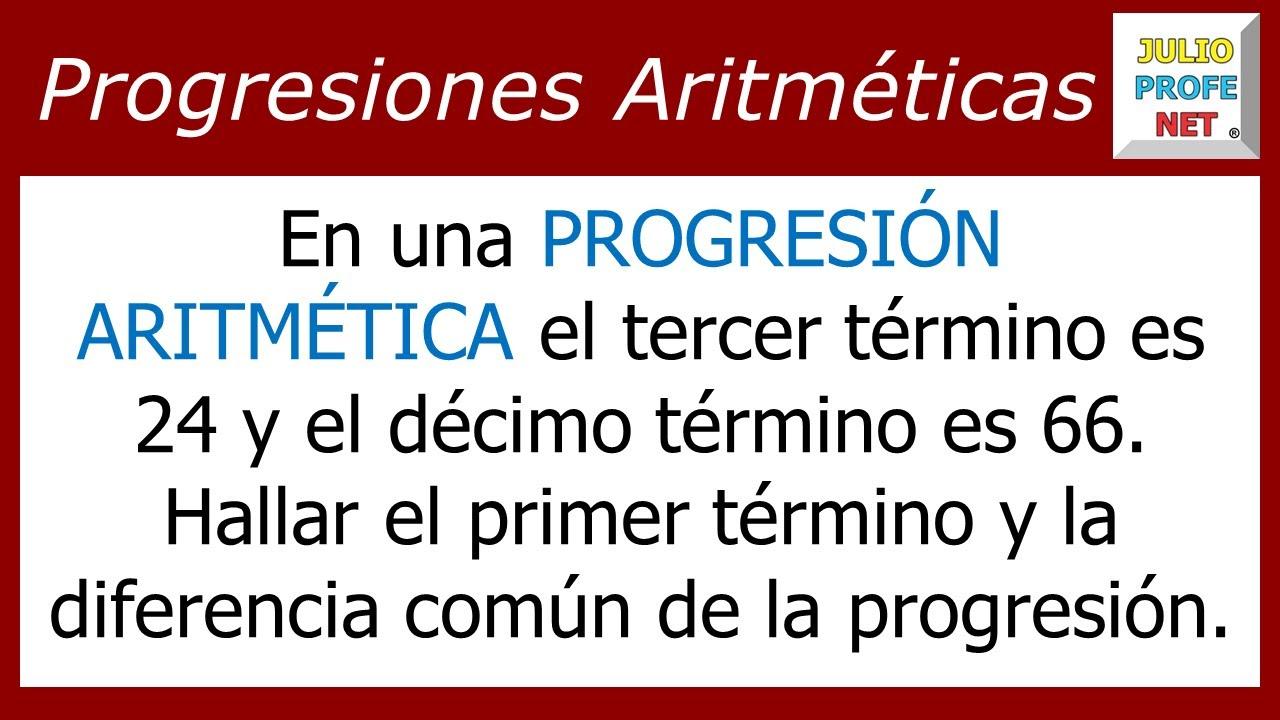 ejercicios de progresion aritmetica pdf