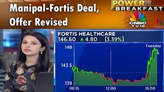 Manipal-TPG Sweetens Bid to Buy Fortis Healthcare | Power Breakfast (Part 1) | CNBC TV18