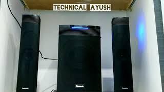 Panasonic HT21 2.1 Channel Speaker System | Sound Test | TECHNICAL AYUSH